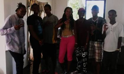 Empress Faye and young upcoming artistes